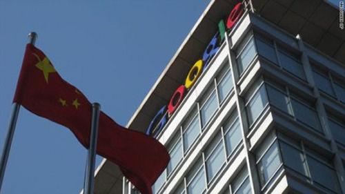 Google's China HQ