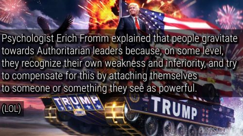Trump Authoritarians Insecurity Meme